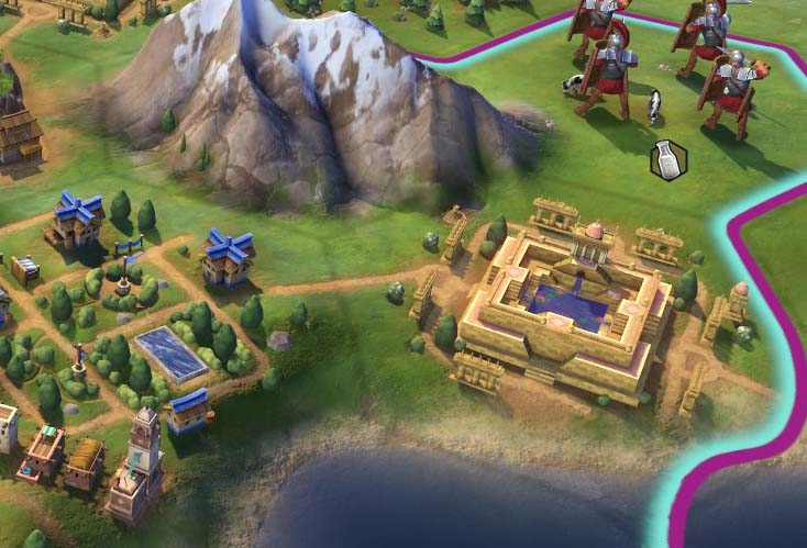 Civilization VI - worked improvement