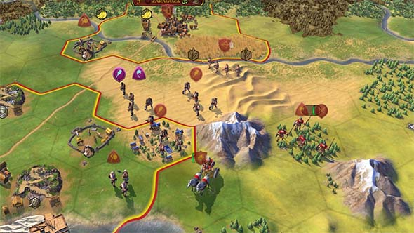 Civilization VI - blocking A.I. settler