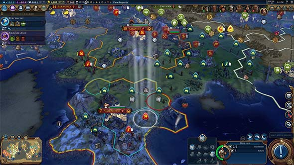 Civilization VI - religious unit clutter