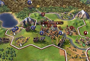 Civilization VI - Sumerian invasion force