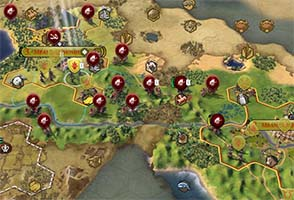 Civilization VI - English invasion force