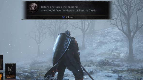 Dark Souls III: Ashes of Ariandel - developer hint