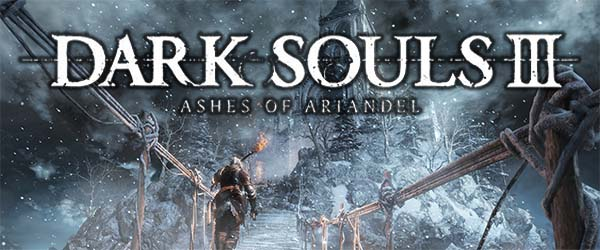Dark Souls III: Ashes of Ariandel - title