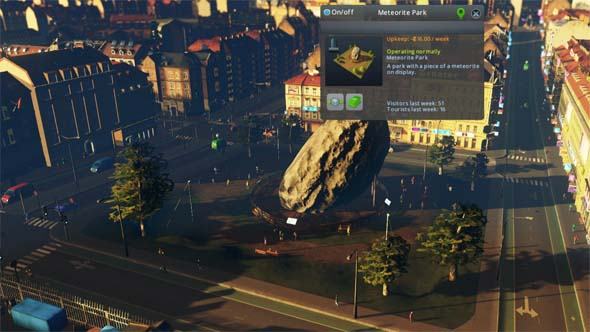 Cities Skylines: Natural Disasters - Meteorite Park