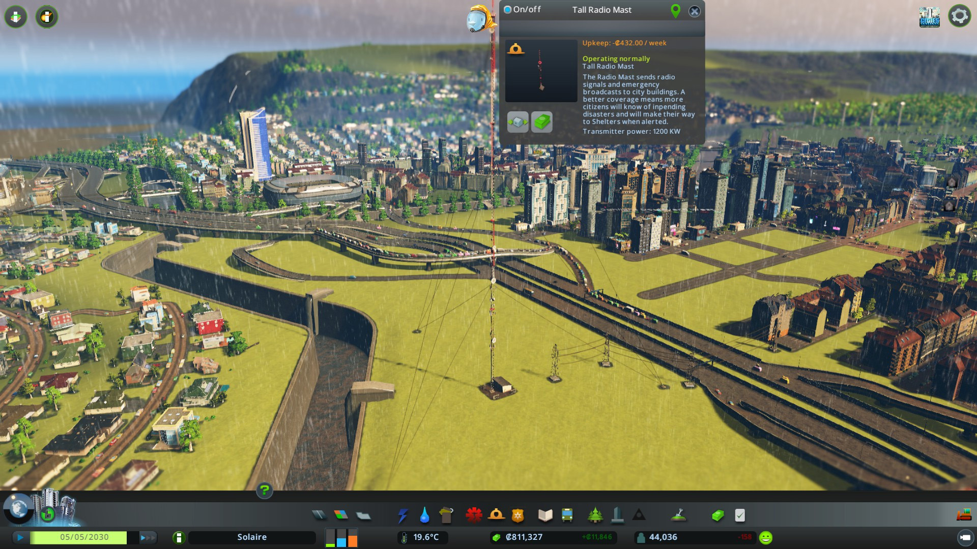 Cities Skylines Natural Disasters Options