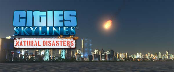 Cities Skylines: Natural Disasters - title