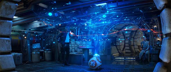 Star Wars - reviewing BB-8's map