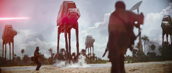 Rogue One - walker attack