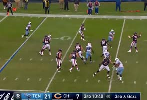 Matt Barkley red zone interception
