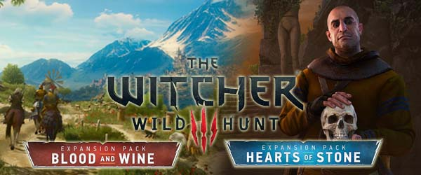 Hearts of Stone' and 'Blood and Wine' expand the Witcher 3