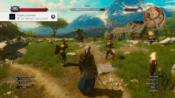 The Witcher III: Blood and Wine - Golyat