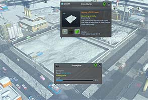 Cities: Skylines: Snowfall - snow dump and plow