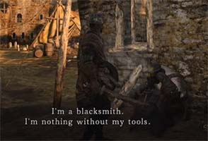 Dark Souls II - blacksmith Lenigrast