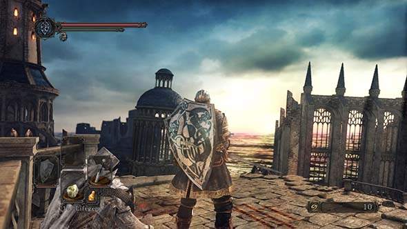 Dark Souls II: Scholar of the First Sin - graphics comparison