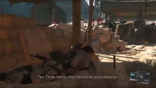 Metal Gear Solid V - Hamid fighters