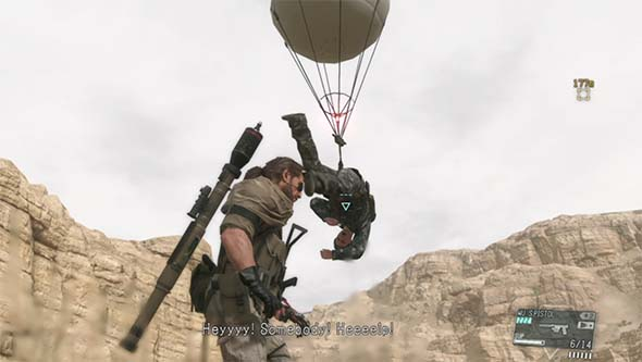 Metal Gear Solid V - Fulton recovery
