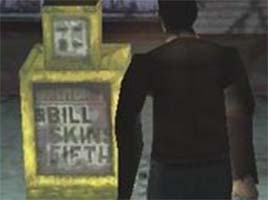 Silent Hill - Bill Skins Fifth newspaper