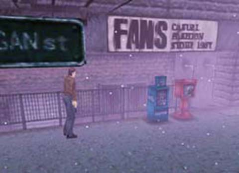Silent Hill - shop sign