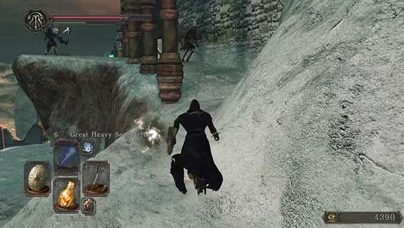 Dark Souls II: Scholar of the First Sin - Brume Tower Fume sorcerer