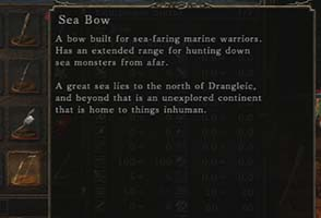 Dark Souls II: Scholar of the First Sin - Sea Bow