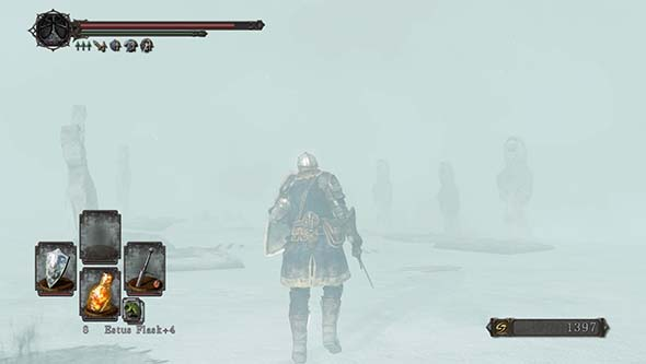 Dark Souls II: Scholar of the First Sin - Frozen Eleum Loyce blizzard