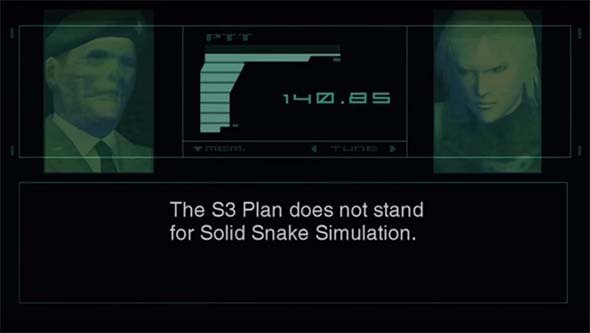 Metal Gear Solid 2 - Solid Snake Simulation