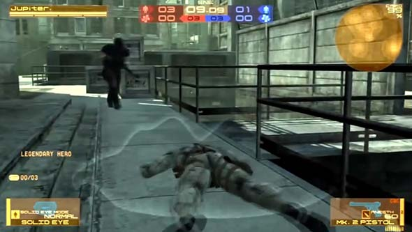 Metal Gear Online (PS3) - sneaking mission