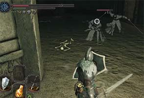 Dark Souls II: Scholar of the First Sin - dual-scimitar ghosts