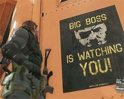 Metal Gear Solid V - Big Boss is watching you!