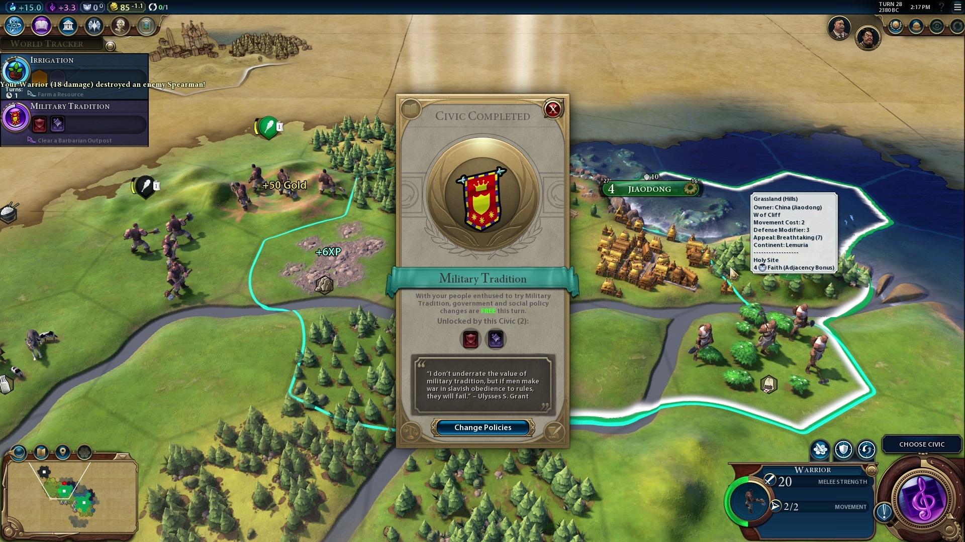 motivos para jogar civilization