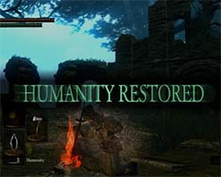 Dark Souls - humanity restored