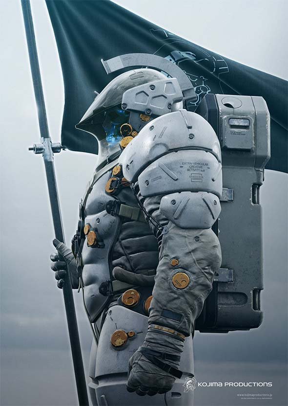 Kojima Productions new IP concept art
