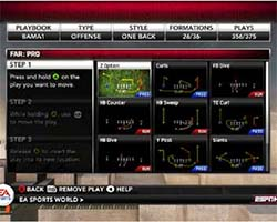 NCAA Football 12 - custom playbook