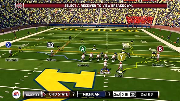 NCAA Football 14 - loud crowd