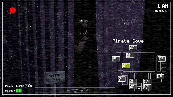 Five Nights at Freddy's - Pirate Cove