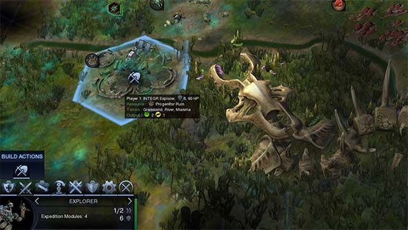 Civilization Beyond Earth - Progenitor Ruin