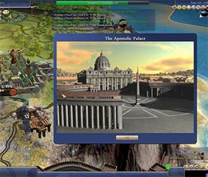 Civilization IV - Apostolic Palace