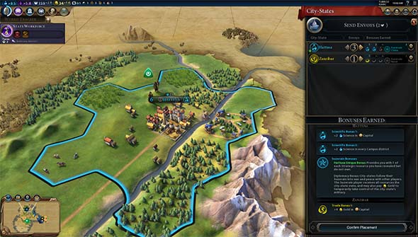 Civilization VI - City State Hattusa