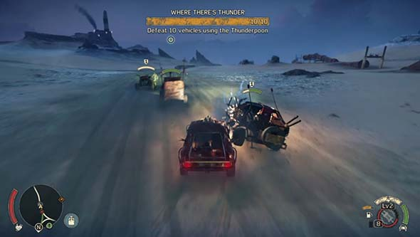 Mad Max - vehicular combat