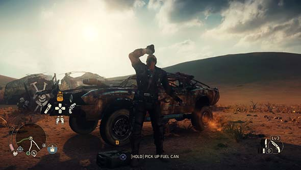 Mad Max - fuel and health