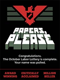 Papers, Please - boxart