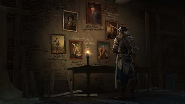 Assassin's Creed III - kill wall