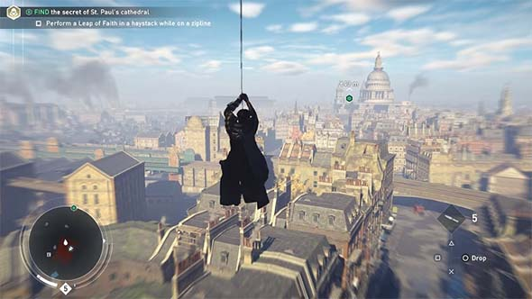 Assassin's Creed: Syndicate - zipline