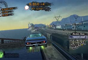 Burnout: Paradise - driving