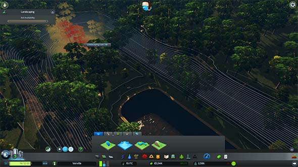 Cities: Skylines - terraforming