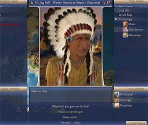 Civilization IV - selling tech