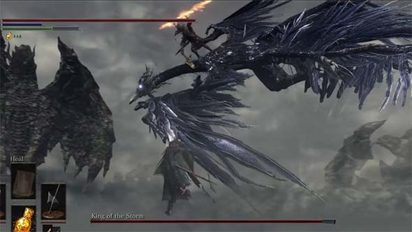Dark Souls III - The Nameless King
