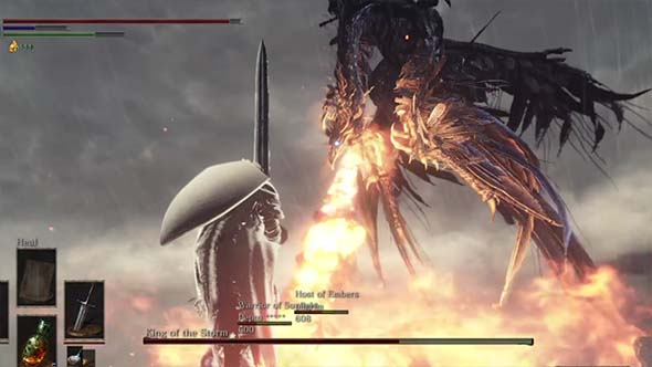 Dark Souls III - flying fire breath