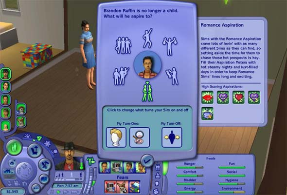 The Sims 2 - aspirations