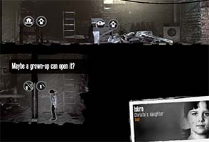 This War of Mine - children can't do most things